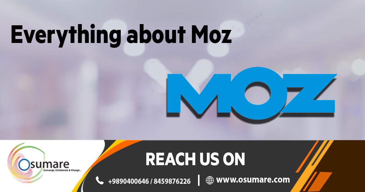 Moz - Advance resource for Smarter Marketing